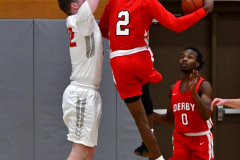 Gallery CIAC Boys Basketball; Wolcott vs. Derby - Photo # 524