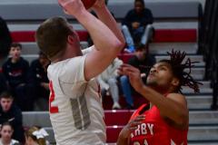 Gallery CIAC Boys Basketball; Wolcott vs. Derby - Photo # 896