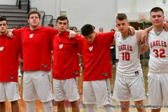 CIAC Boys Basketball; Wolcott 47 vs. Greenwich 76 - Photo # 135