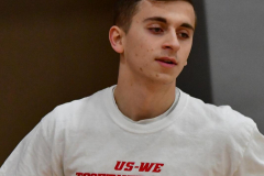CIAC Boys Basketball; Wolcott 69 vs. East Hampton 63 - Photo # 121