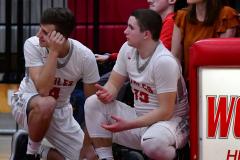 CIAC Boys Basketball; Wolcott 69 vs. East Hampton 63 - Photo # 621