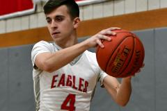 CIAC Boys Basketball; Wolcott 69 vs. East Hampton 63 - Photo # 628