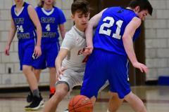 CIAC Boys Basketball; Wolcott 69 vs. East Hampton 63 - Photo # 656