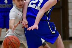CIAC Boys Basketball; Wolcott 69 vs. East Hampton 63 - Photo # 657