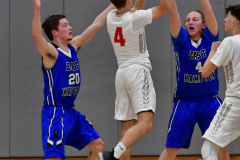CIAC Boys Basketball; Wolcott 69 vs. East Hampton 63 - Photo # 842