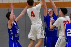CIAC Boys Basketball; Wolcott 69 vs. East Hampton 63 - Photo # 843