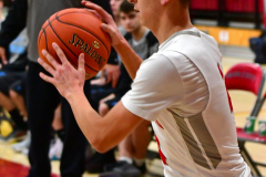 CIAC Boys Basketball; Wolcott 81 vs. Oxford 74 - Photo # 431