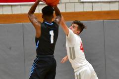 CIAC Boys Basketball; Wolcott 81 vs. Oxford 74 - Photo # 542
