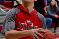 CIAC Boys Basketball; Wolcott vs. Ansonia, Pregame - Photo # (126)