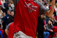 CIAC Boys Basketball; Wolcott vs. Ansonia, Pregame - Photo # (128)