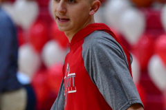 CIAC Boys Basketball; Wolcott vs. Ansonia, Pregame - Photo # (15)