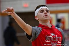 CIAC Boys Basketball; Wolcott vs. Ansonia, Pregame - Photo # (151)