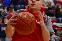 CIAC Boys Basketball; Wolcott vs. Ansonia, Pregame - Photo # (9)