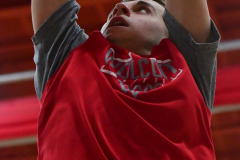 CIAC Boys Basketball; Wolcott vs. Derby, Pregame - Photo # (183)