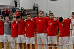CIAC Boys Basketball; Wolcott 47 vs. Greenwich 76 - Photo # 134