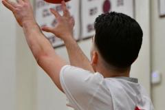 CIAC Boys Basketball; Wolcott 47 vs. Greenwich 76 - Photo # 436
