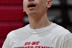CIAC Boys Basketball; Wolcott 69 vs. East Hampton 63 - Photo # 034
