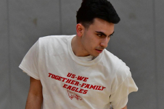 CIAC Boys Basketball; Wolcott 69 vs. East Hampton 63 - Photo # 118