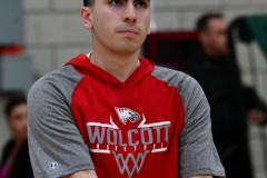 CIAC Boys Basketball; Wolcott vs. Derby, Pregame - Photo # (105)