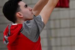 CIAC Boys Basketball; Wolcott vs. Derby, Pregame - Photo # (73)