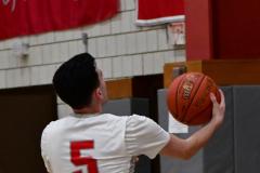 Gallery CIAC Boys Basketball; Wolcott vs. Derby - Photo # 698