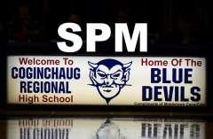 CIAC Boys Basketball: Coginchaug 53 vs. Valley Regional 54