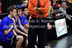 CIAC Boys Basketball Portland 39 vs. Old Lyme 54