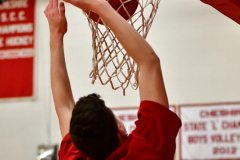 CIAC Boys Basketball; Cheshire vs. Southington - Photo # 051
