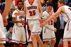 CIAC Boys Basketball; Cheshire vs. Southington - Photo # 351