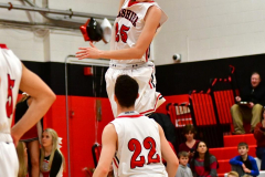 CIAC Boys Basketball; Cheshire vs. Southington - Photo # 355