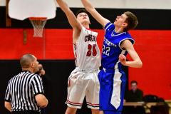 CIAC Boys Basketball; Cheshire vs. Southington - Photo # 411