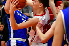 CIAC Boys Basketball; Cheshire vs. Southington - Photo # 430