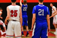 CIAC Boys Basketball; Cheshire vs. Southington - Photo # 441