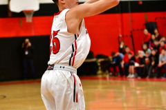 CIAC Boys Basketball; Cheshire vs. Southington - Photo # 445