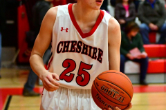 CIAC Boys Basketball; Cheshire vs. Southington - Photo # 556