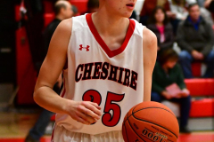 CIAC Boys Basketball; Cheshire vs. Southington - Photo # 557