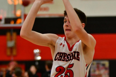 CIAC Boys Basketball; Cheshire vs. Southington - Photo # 598