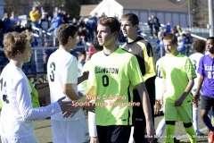 CIAC Boys Soccer Class M Tournament Final's – #5 Brookfield 1 vs. #18 Ellington 0 – Postgame, Part 3 - Photo # (35)