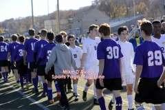 CIAC Boys Soccer Class M Tournament Final's – #5 Brookfield 1 vs. #18 Ellington 0 – Postgame, Part 3 - Photo # (38)