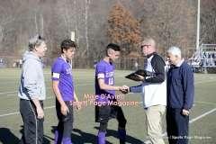 CIAC Boys Soccer Class M Tournament Final's – #5 Brookfield 1 vs. #18 Ellington 0 – Postgame, Part 3 - Photo # (90)