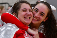 CIAC Girls Basketball; Wolcott vs. St. Paul - Photo # 324