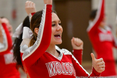 CIAC Girls Basketball; Wolcott vs. St. Paul - Photo # 334