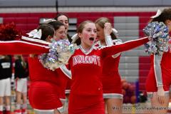 CIAC Girls Basketball; Wolcott vs. Watertown - Photo # 366