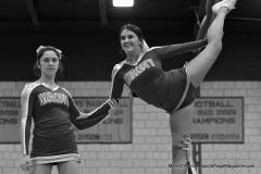 CIAC Girls Basketball; Wolcott vs. Watertown - Photo # 374