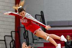 CIAC Girls Basketball; Wolcott vs. Watertown - Photo # 662
