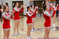 CIAC Girls Basketball; Wolcott vs. Watertown - Photo # 672