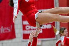 CIAC Girls Basketball; Wolcott vs. Watertown - Photo # 687