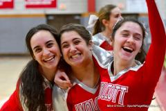 CIAC Girls Basketball; Wolcott vs. Watertown - Photo # 705