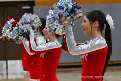 CIAC Girls Basketball; Wolcott vs. Watertown - Photo # 786