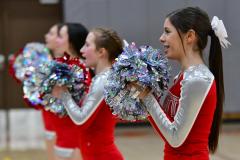 CIAC Girls Basketball; Wolcott vs. Watertown - Photo # 787